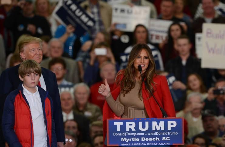 The FLOTUS isn't afraid of telling Donald Trump the truth