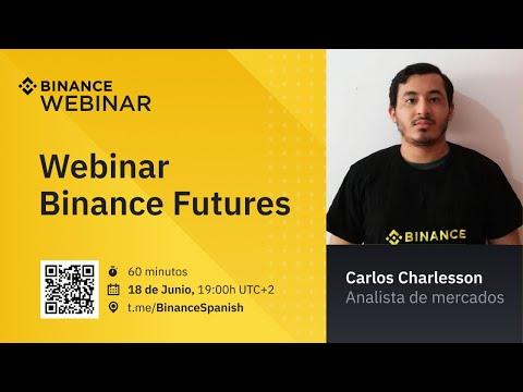 Webinar Binance Futuros en español - Junio 2020