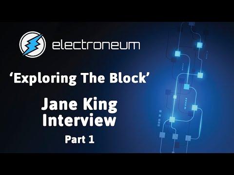 Richard Ells & Jane King Innovators Interview - Part 1 | Electroneum
