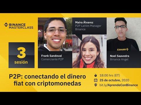 P2P: conectando el dinero fiat con criptomonedas - Binance Spanish Masterclass: 3era sesión