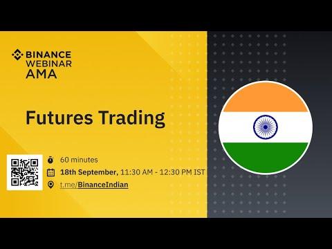 Binance Futures Trading AMA - India