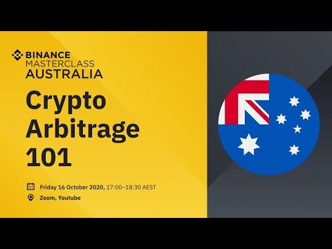 Binance Australia Masterclass - Crypto Arbitrage 101