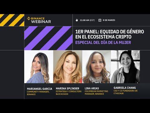 Especial día de la mujer | 1er panel: Equidad de genero en el ecosistema cripto