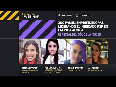 Especial día de la mujer | 2do panel: Emprendedoras liderando el  mercado P2P en Latinoamérica